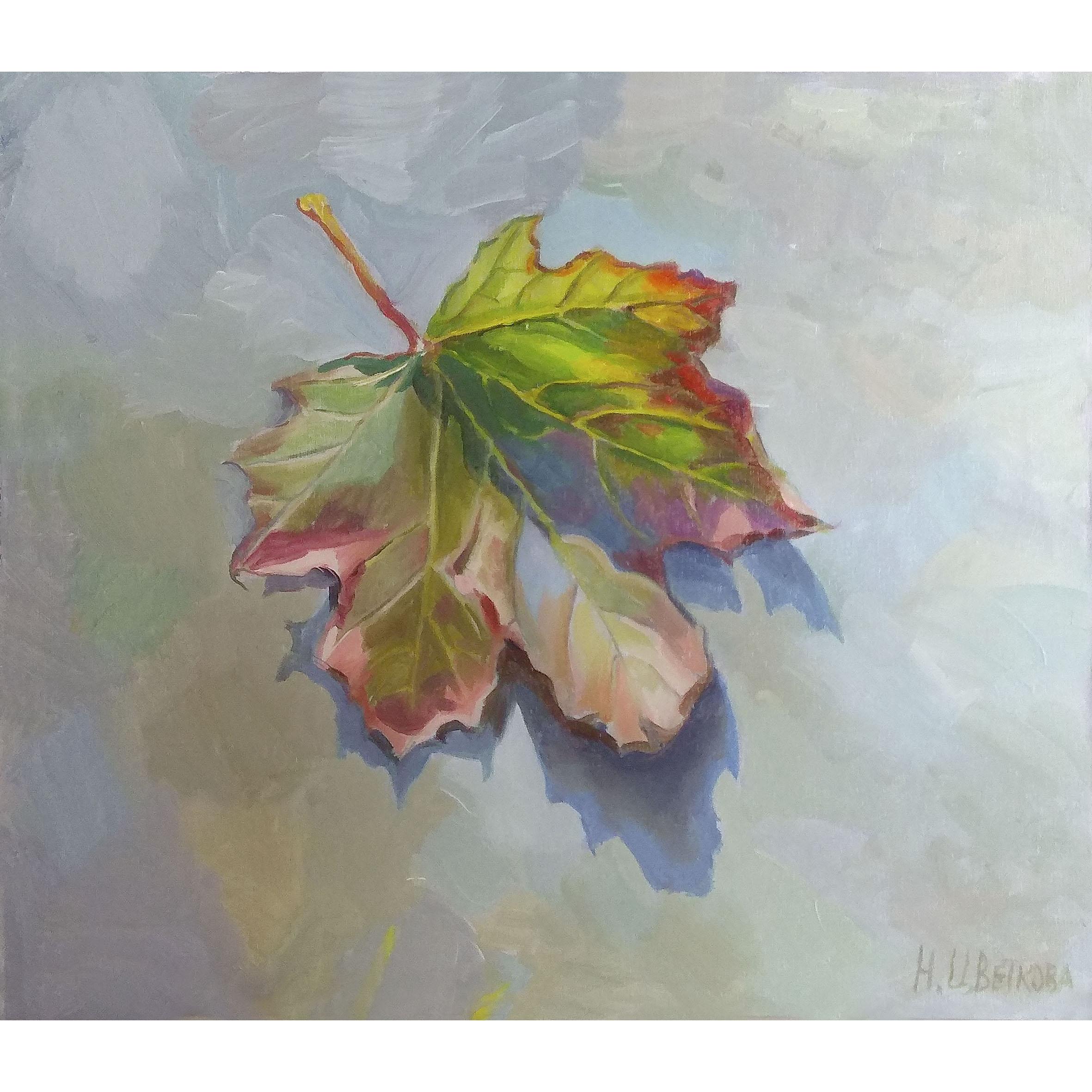Cухое солнце - осенний лист