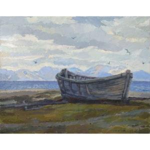 Северный полюс лодка